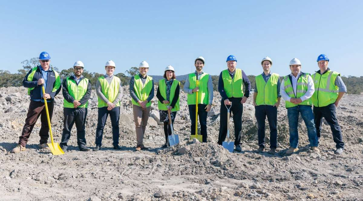 Woolworths break ground at Cameron Park Plaza!